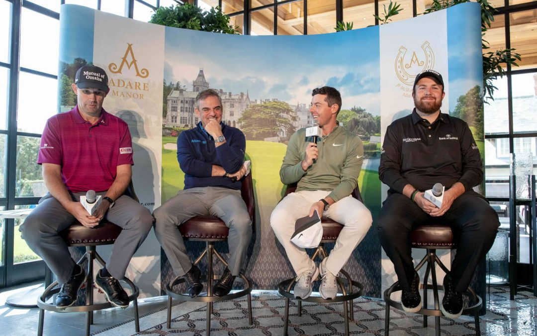 Golfing Stars shine bright at Adare Manor
