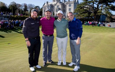 STARS OF IRISH GOLF LAUNCH THE GOLF COURSE AT ADARE MANOR